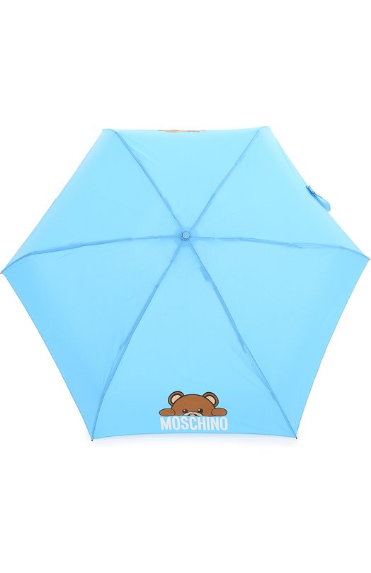 Складной зонт с брелоком Moschino 8194-SUPERMINI