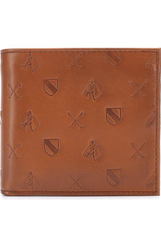 Кожаное портмоне с отделениями для кредитных карт Polo Ralph Lauren 405663107