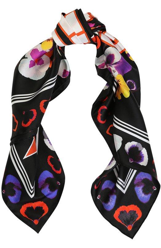 Шелковый платок с принтом Givenchy GW9090/SD494