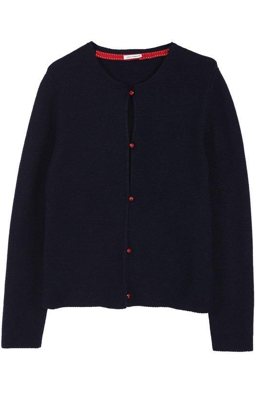 Вязаный кардиган с декоративными пуговицами Dolce & Gabbana 0131/L55K08/LK4L2/8-12
