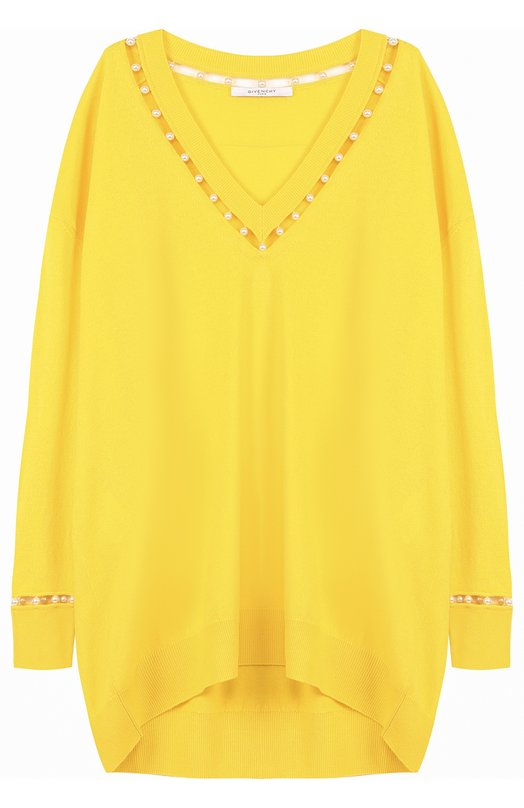 Купить Пуловер свободного кроя с V-образным вырезом Givenchy Италия 5175817 17X7845502