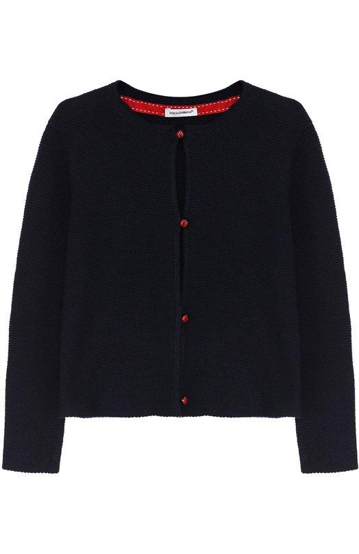 Вязаный кардиган с декоративными пуговицами Dolce & Gabbana 0131/L55K08/LK4L2/2-6