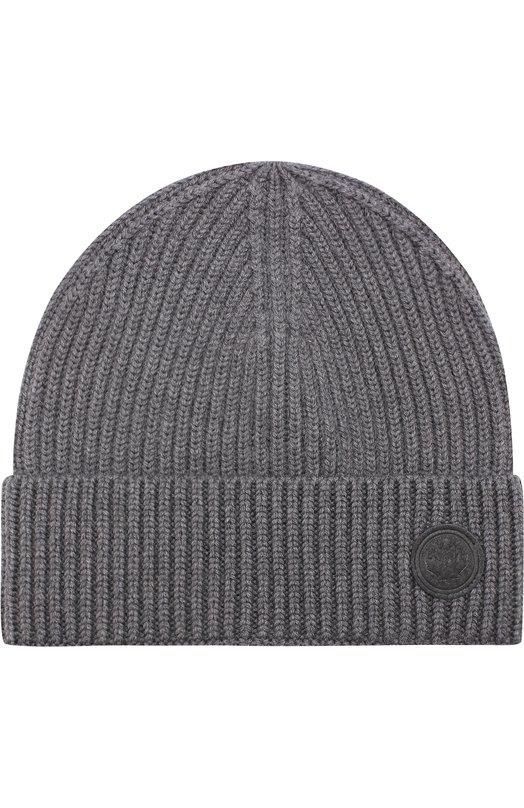 Шерстяная шапка фактурной вязки Dsquared2 W17KH4003/01W