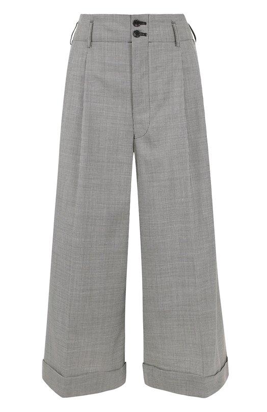 Укороченные широкие брюки со складками Comme des Garcons GS-P001-051