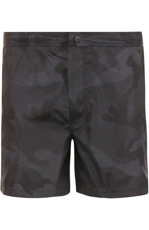 Плавки-шорты с камуфляжным принтом Valentino