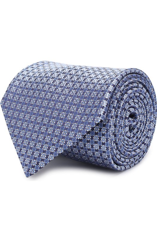 Купить Шелковый галстук с узором Brioni Италия 5177178 062H/0640B