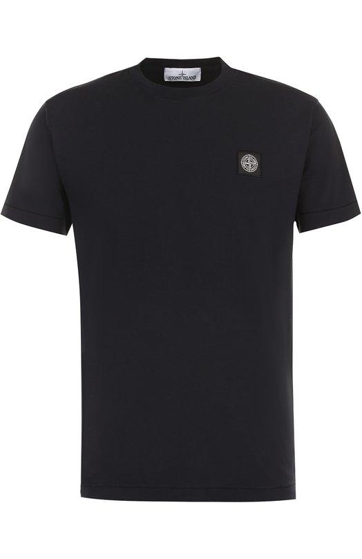 Хлопковая футболка с круглым вырезом Stone Island 671524141
