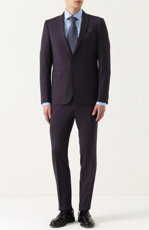 Шерстяной костюм с пиджаком на двух пуговицах Sand 1540/STAR-CRAIG