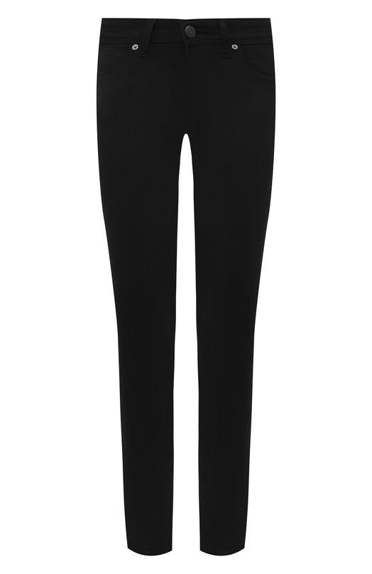 Однотонные джинсы-скинни Burberry 3946595