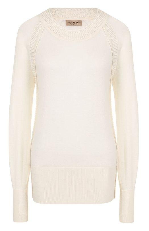 Купить Кашемировый пуловер с круглым вырезом Burberry Китай 5178030 4051334