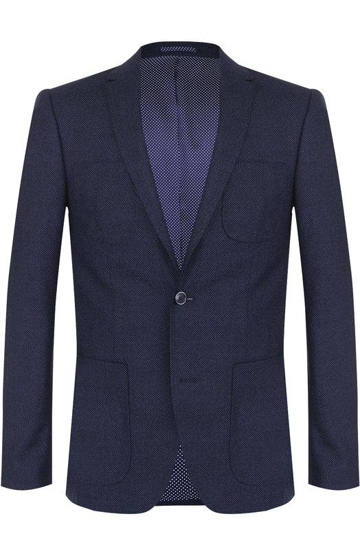 Шерстяной однобортный пиджак Sand 6997/STAR S0FT PP