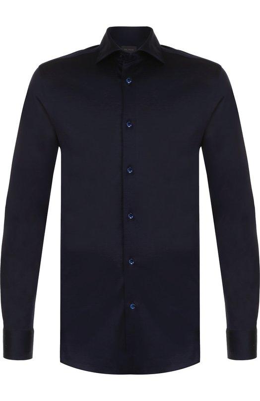 Хлопковая сорочка с воротником кент Pal Zileri L370K06S/20295