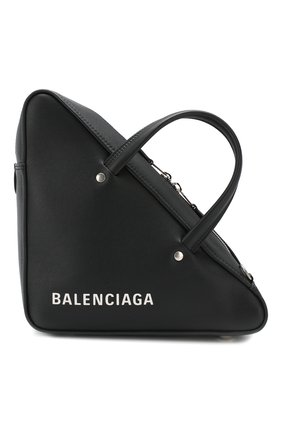 Сумка Triangle Balenciaga черная | Фото №1
