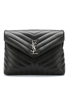 Сумка LouLou Monogram large Saint Laurent черная | Фото №1