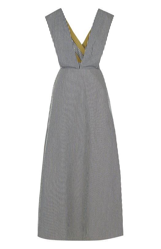 Купить Приталенное платье-макси в полоску Walk of Shame Россия HE00375653 SD007-PF17