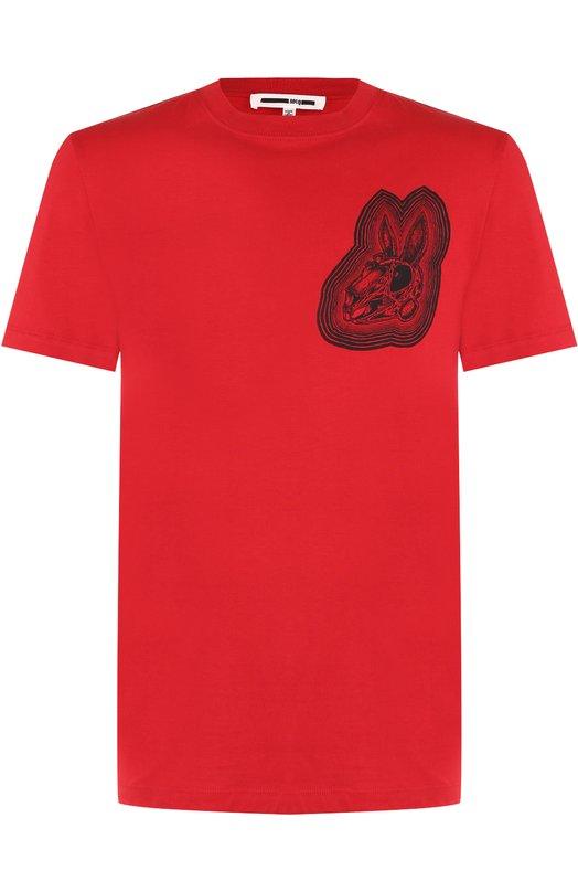 Купить Хлопковая футболка с принтом MCQ Турция 5176747 277605/RIR36