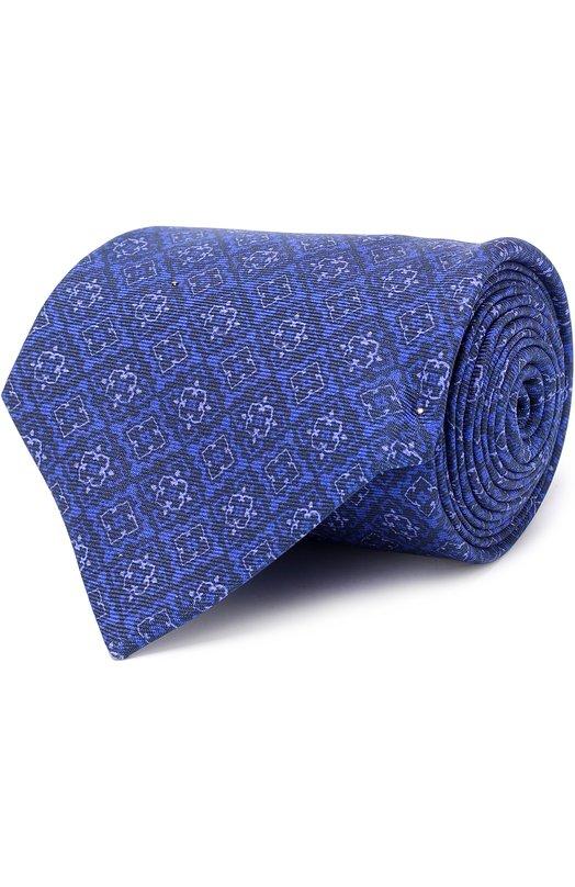 Купить Шелковый галстук с узором Kiton Италия 5179005 KLC05E07
