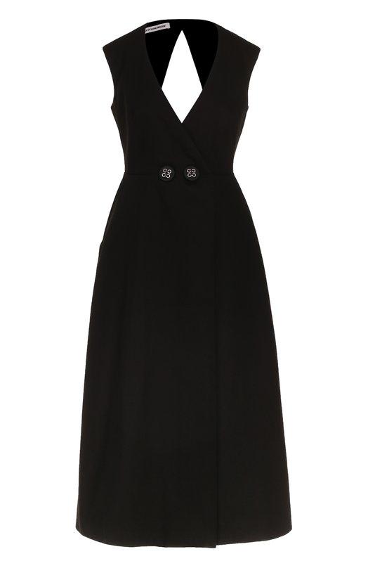 Купить Приталенное платье-миди с открытой спиной Walk of Shame Россия HE00375646 SD005-PF17