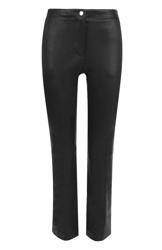Расклешенные кожаные брюки Helmut Lang