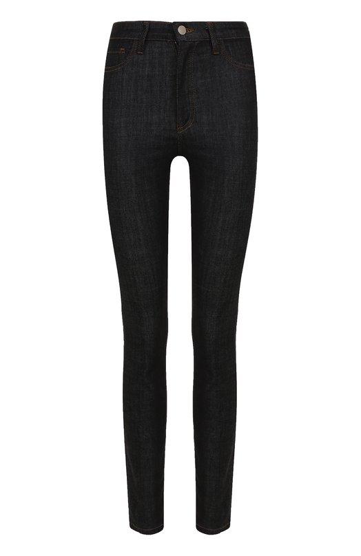 Купить Однотонные джинсы прямого кроя Victoria, Victoria Beckham, VB175 PAW17 444, Турция, Синий, Хлопок: 94%; Полиэстер: 5%; Эластан: 1%;