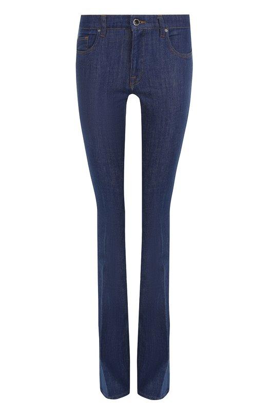 Однотонные расклешенные джинсы Victoria, Victoria Beckham, VB227 PAW17 460, Турция, Синий, Хлопок: 98%; Эластан: 2%; - купить