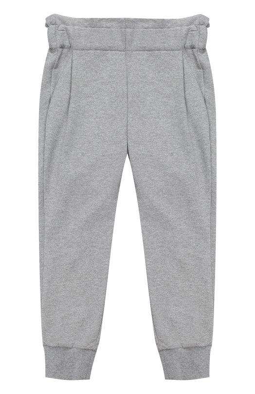 Спортивные брюки с эластичными манжетами и широким поясом Fendi