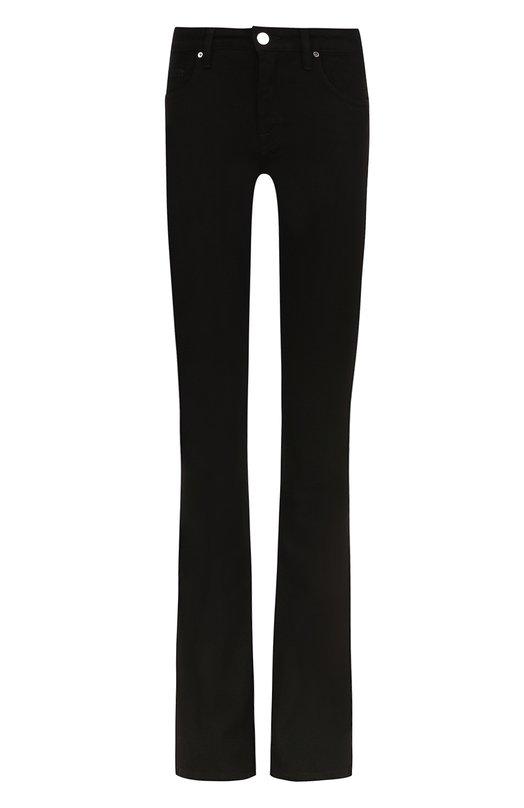 Купить Однотонные расклешенные джинсы Victoria, Victoria Beckham, VB227 PAW17 379, Турция, Черный, Хлопок: 98%; Эластан: 2%;