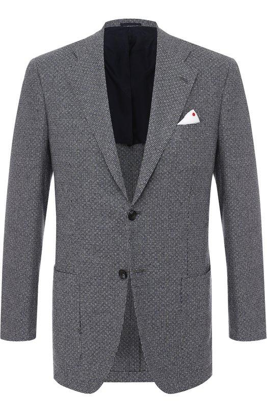 Кашемировый пиджак Kiton