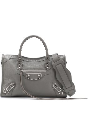 Сумка Classic Metallic Edge City S  Balenciaga черная | Фото №1