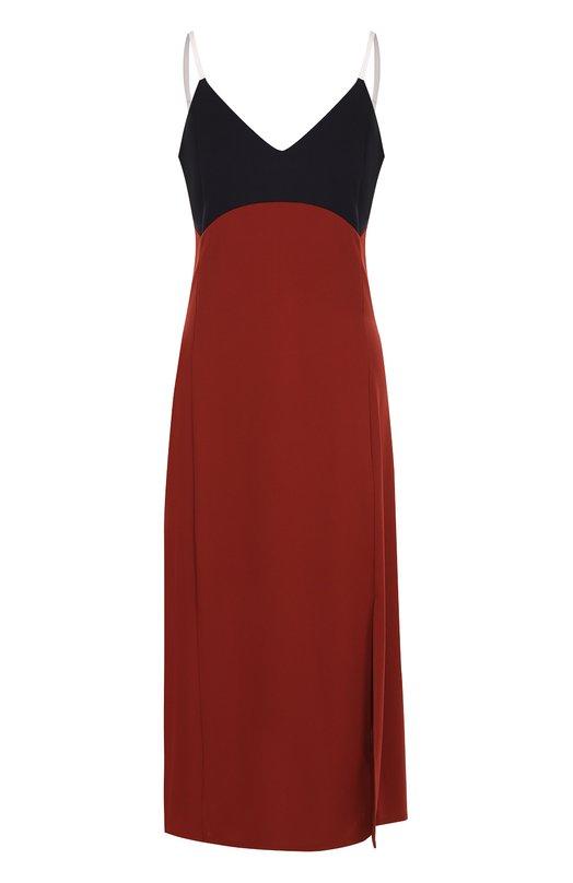 Купить Платье-комбинация с контрастным лифом DKNY Китай 5181324 P26898LB