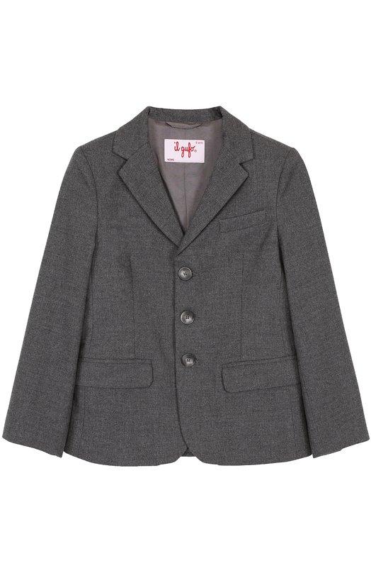 Однобортный пиджак Il Gufo