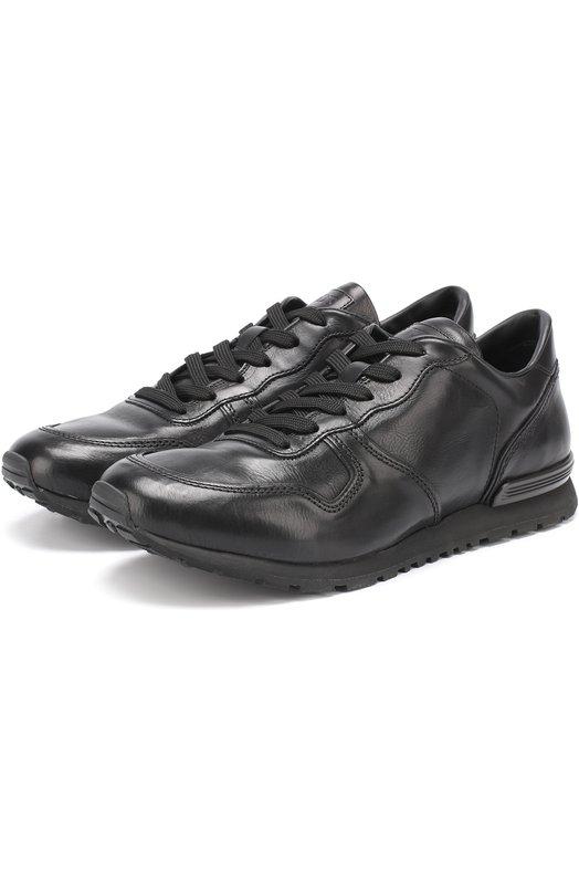 Кожаные кроссовки на шнуровке Tod's Италия 5175750 XXM0YM0R360DVR9999  - купить со скидкой