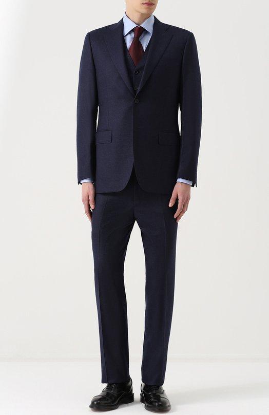 Купить Шерстяной костюм-тройка Canali Италия 5178560 11220/10/BF01209