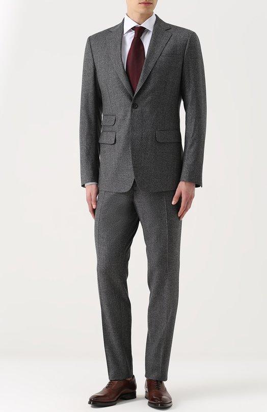 Купить Шерстяной костюм с пиджаком на двух пуговицах Dsquared2 Италия 5181710 S74FT0303/S45257