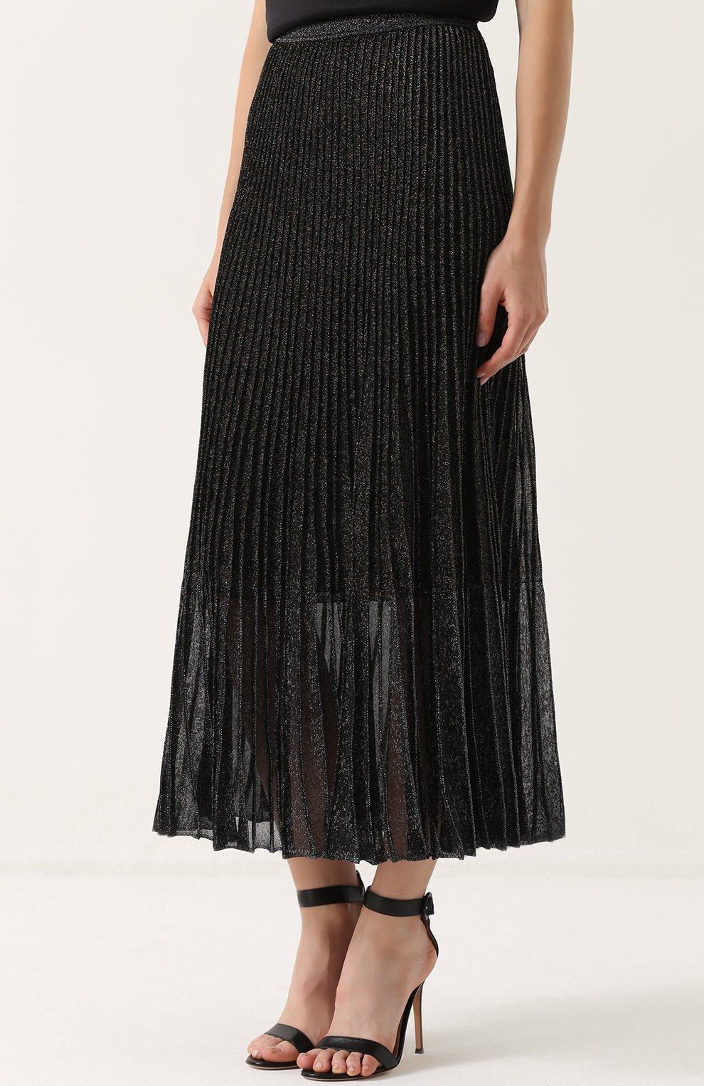 плиссированные юбки гаде купить