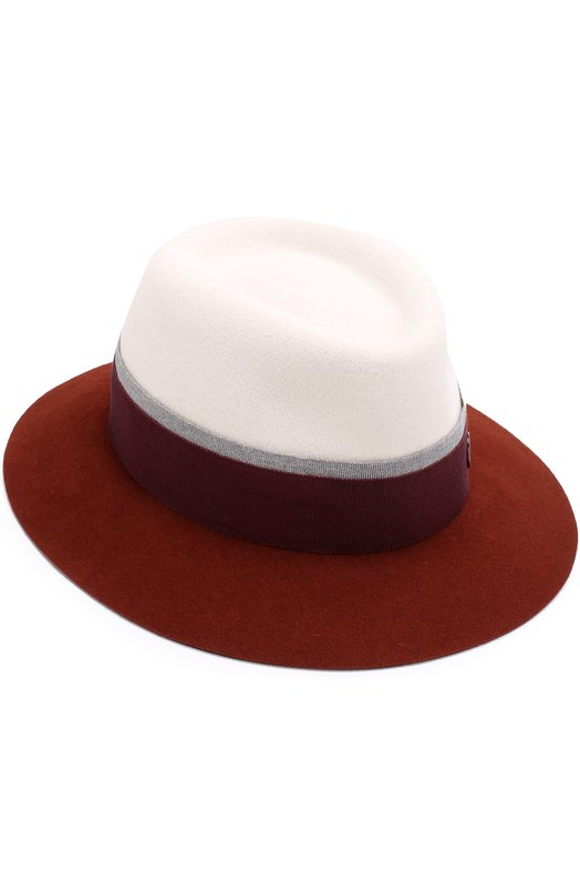 Фетровая шляпа Andre с лентой Maison Michel Maison Michel
