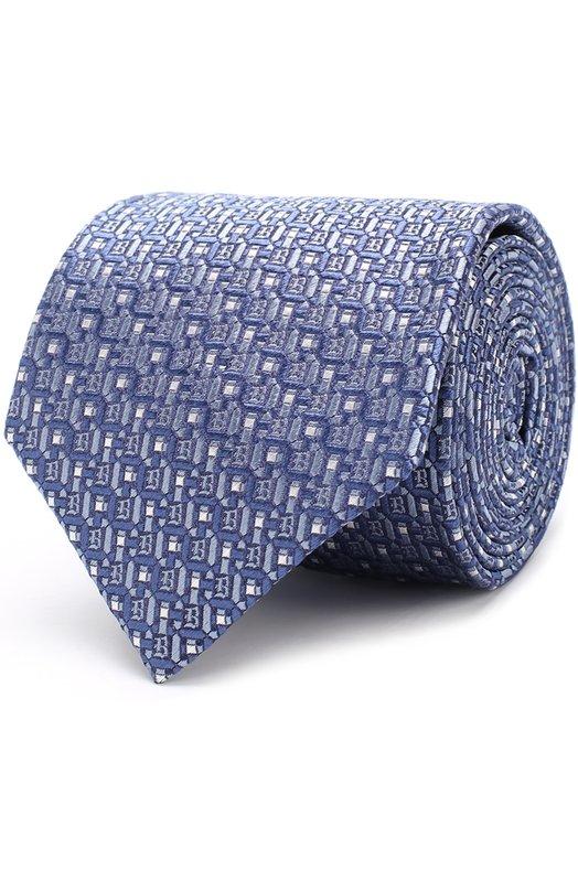 Купить Шелковый галстук с узором Brioni Италия 5186713 062I/0640J