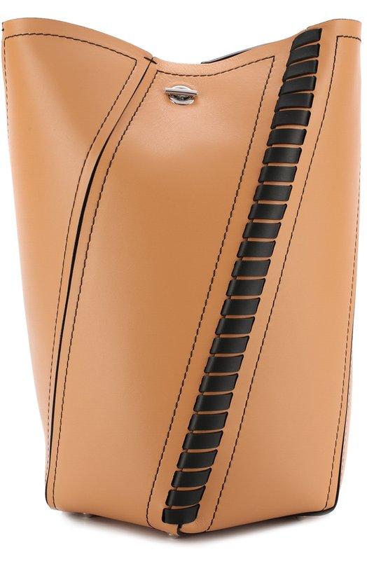 Купить Сумка Hex Medium Proenza Schouler, H00429-C169P, Италия, Коричневый, Кожа натуральная: 100%;