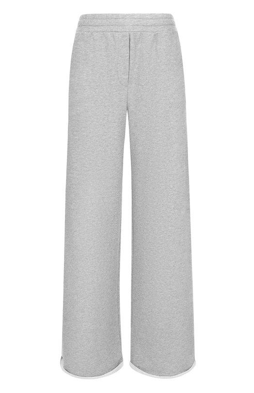 Расклешенный хлопковые брюки T by Alexander Wang 4C274003A4