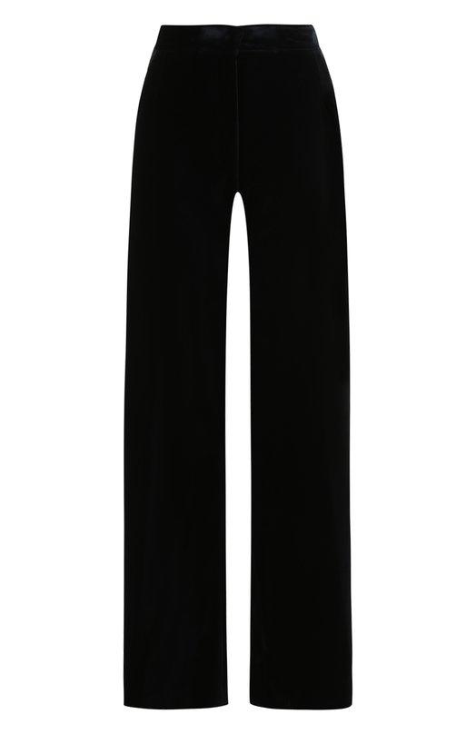 Купить Однотонные хлопковые брюки Dries Van Noten, 172-10907-4319, Румыния, Темно-синий, Хлопок: 100%;
