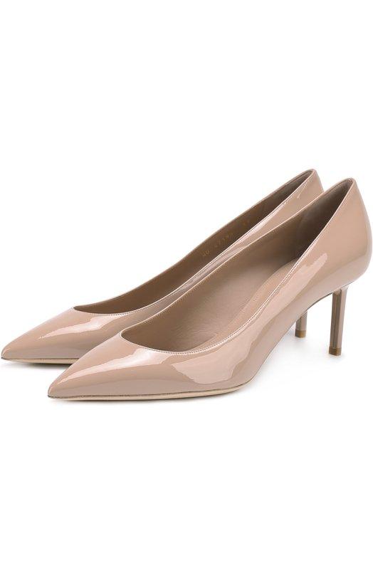Лаковые туфли Anja на шпильке Saint Laurent Saint Laurent