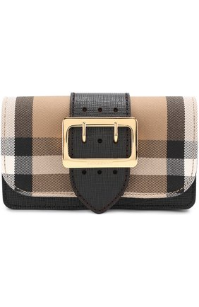 Сумка Mini Buckle Burberry черная | Фото №1