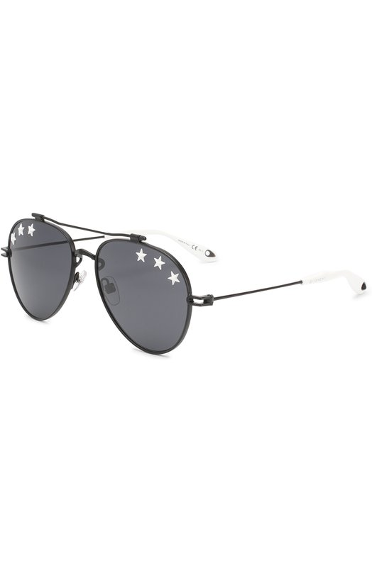 Купить Солнцезащитные очки Givenchy, 7057/STARS 807 IR, Италия, Черно-белый
