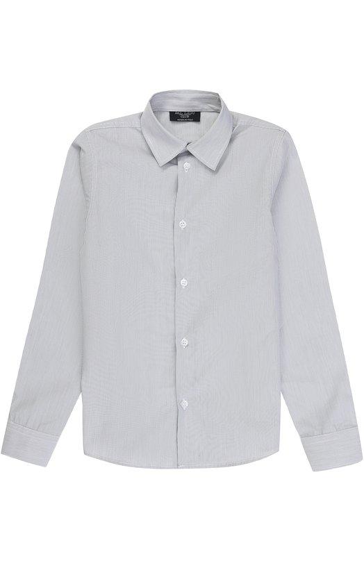 Купить N402/7815/7-12, Хлопковая рубашка в мелкую полоску Dal Lago, Италия, Серый, Хлопок: 100%;, Мужской, Рубашки