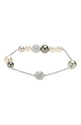 Браслет Remix Collection Mixed Gray Crystal Pearl