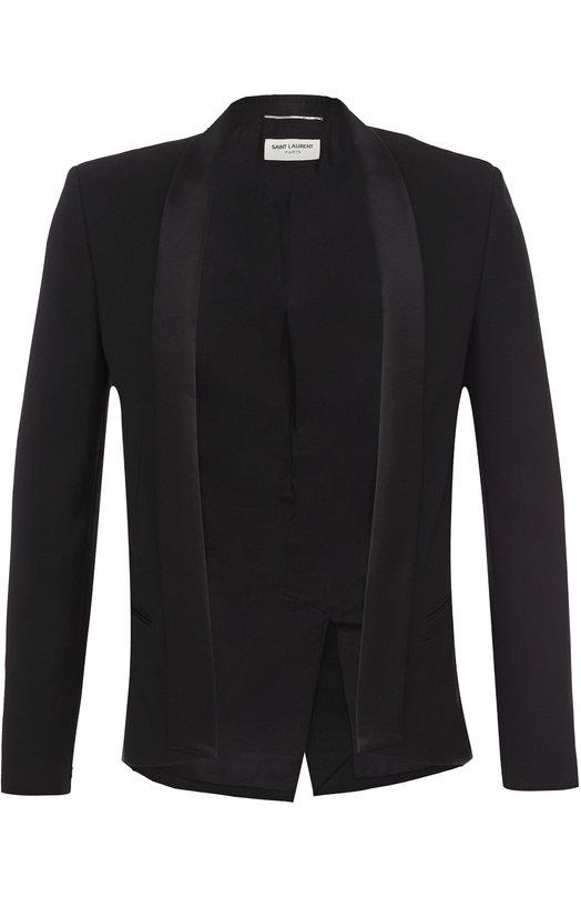 Шерстяной вечерний пиджак Saint Laurent