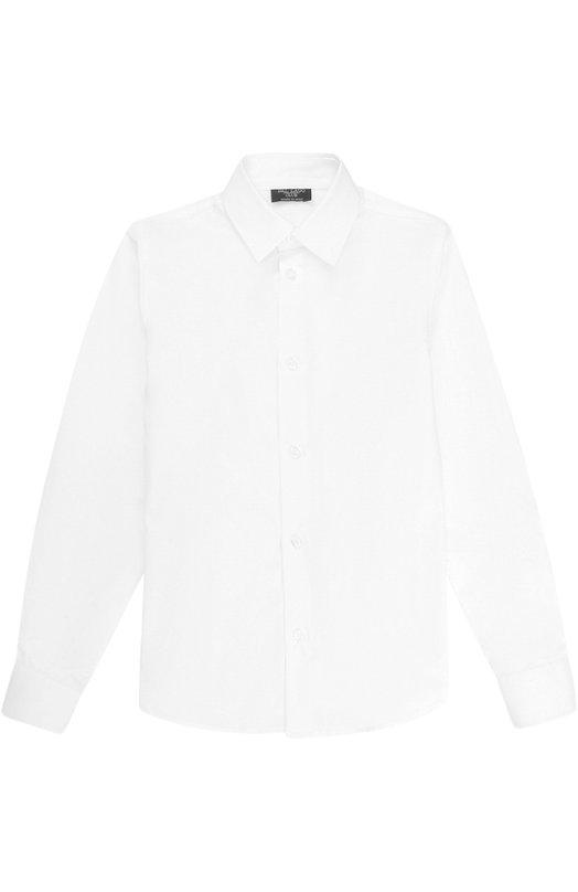 Купить N402/8219/7-12, Хлопковая рубашка прямого кроя Dal Lago, Италия, Белый, Хлопок: 100%;, Мужской, Рубашки
