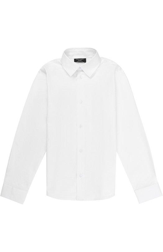 Купить N402/8305/7-12, Хлопковая рубашка прямого кроя Dal Lago, Италия, Белый, Хлопок: 100%;, Мужской, Рубашки