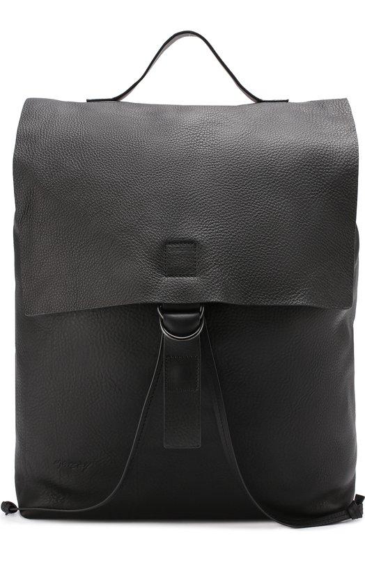 Кожаный рюкзак с клапаном Marsell