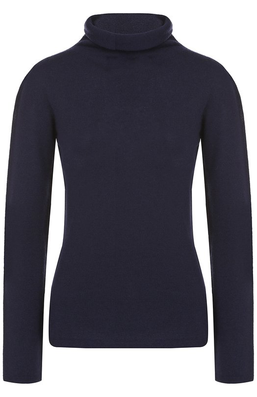 Кашемировый свитер прямого кроя Armani Collezioni, 6YMM15/MM15Z, Италия, Темно-синий, Кашемир: 100%;  - купить